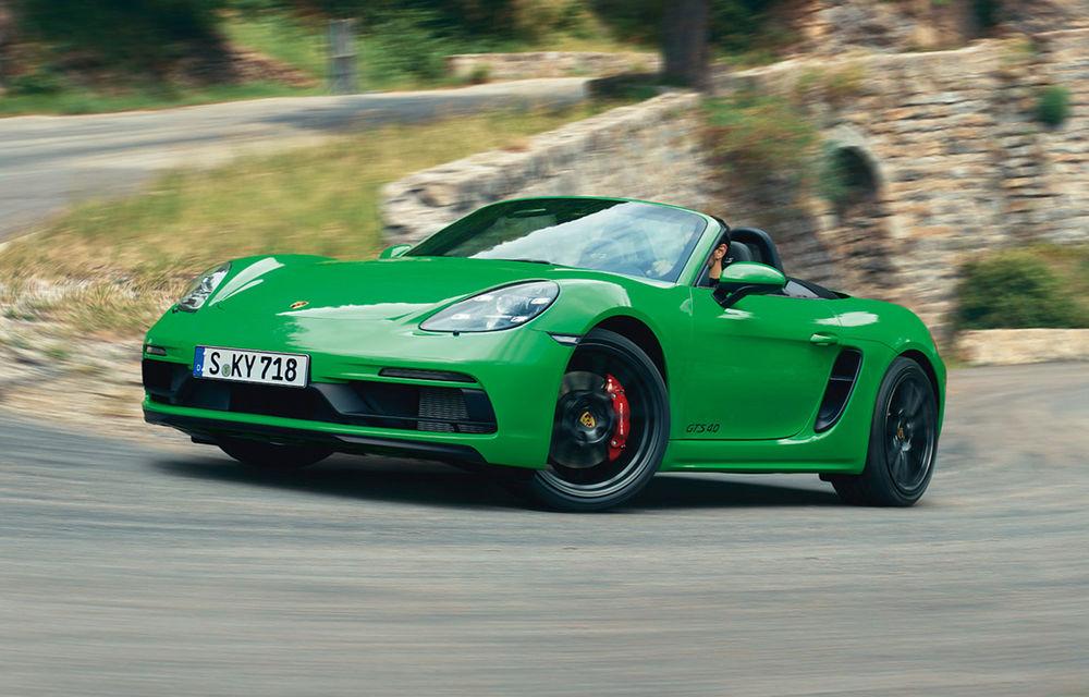 Porsche introduce noile 718 Cayman GTS 4.0 și 718 Boxster GTS 4.0: motor boxer cu șase cilindri și 400 CP - Poza 1