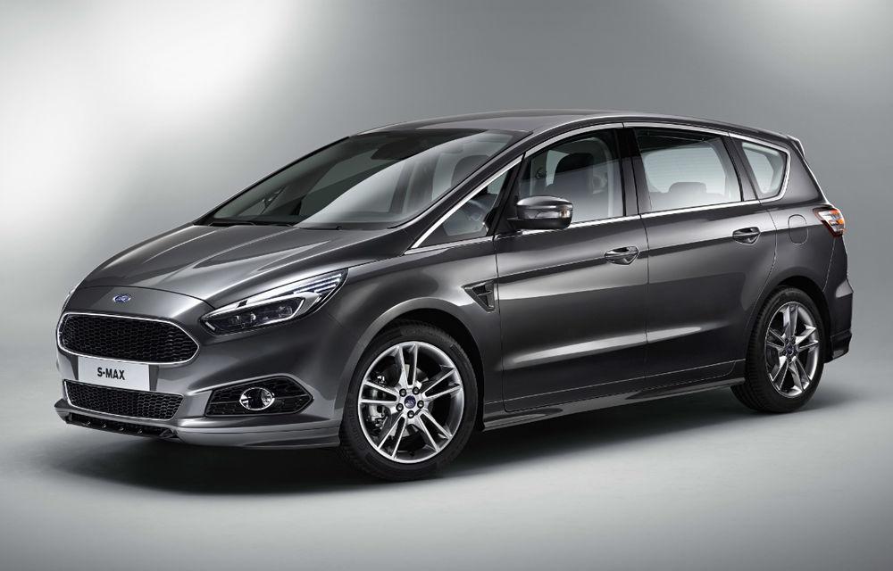 Ford va lansa S-Max Hybrid și Galaxy Hybrid la începutul lui 2021: producție la Valencia - Poza 1