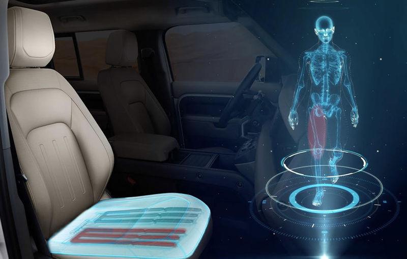Jaguar Land Rover dezvoltă un scaun de mașină inovator: forma scaunului va simula mersul pe jos - Poza 1