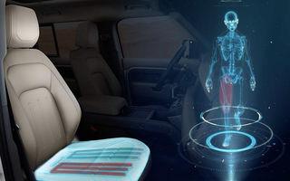 Jaguar Land Rover dezvoltă un scaun de mașină inovator: forma scaunului va simula mersul pe jos