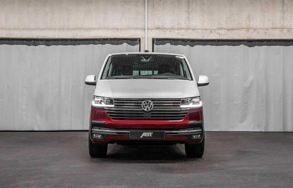 Volkswagen Multivan facelift, preparat de ABT Sportsline: suspensie Bilstein și versiuni cu până la 226 de cai putere - Poza 2