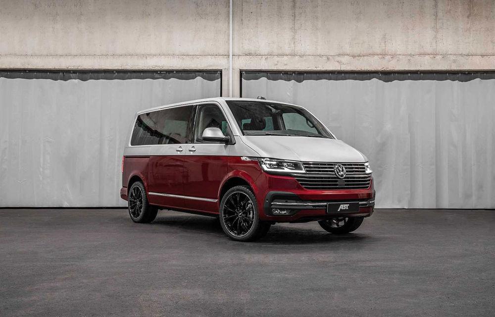 Volkswagen Multivan facelift, preparat de ABT Sportsline: suspensie Bilstein și versiuni cu până la 226 de cai putere - Poza 1