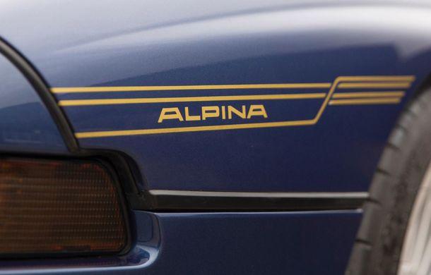 Un exemplar Alpina B12 5.7 Coupe va fi scos la licitație: prețul estimat de specialiști trece de 300.000 de euro - Poza 7