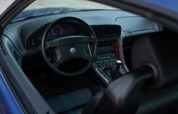 Un exemplar Alpina B12 5.7 Coupe va fi scos la licitație: prețul estimat de specialiști trece de 300.000 de euro - Poza 9