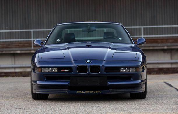Un exemplar Alpina B12 5.7 Coupe va fi scos la licitație: prețul estimat de specialiști trece de 300.000 de euro - Poza 2