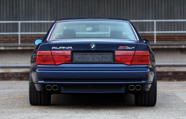 Un exemplar Alpina B12 5.7 Coupe va fi scos la licitație: prețul estimat de specialiști trece de 300.000 de euro - Poza 4