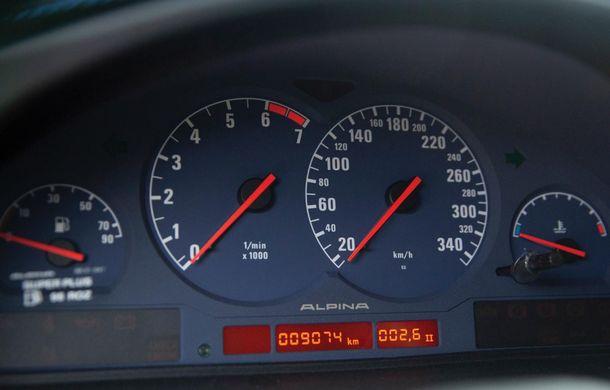 Un exemplar Alpina B12 5.7 Coupe va fi scos la licitație: prețul estimat de specialiști trece de 300.000 de euro - Poza 13