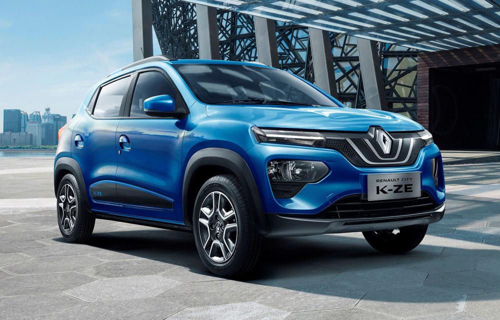"""Oficialii Renault neagă că SUV-ul electric de oraș Renault K-ZE va fi vândut în Europa sub sigla Dacia: """"Prețul ar fi prea mare pentru clienții mărcii"""" - Poza 1"""