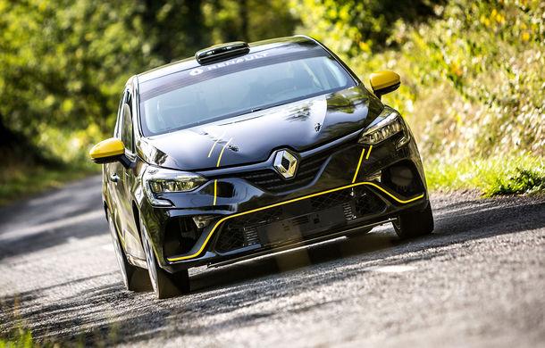 Noul Renault Clio Rally R2: modelul dedicat raliurilor debutează în etapa din Monte Carlo - Poza 1