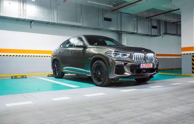 Test drive BMW X6