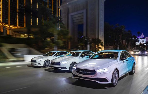Primele imagini și detalii referitoare la Mercedes-Benz Clasa E facelift: versiuni mild-hybrid și plug-in hybrid, interior îmbunătățit și tehnologii de conducere semi-autonomă - Poza 23
