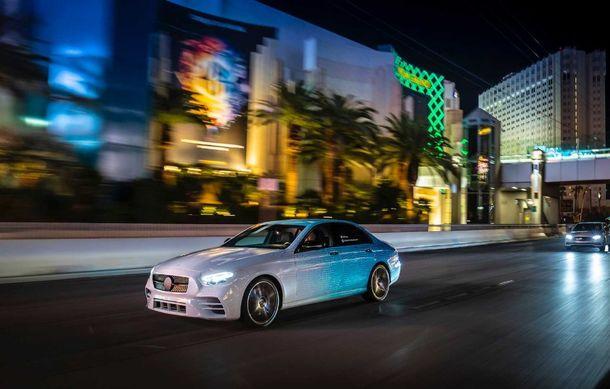 Primele imagini și detalii referitoare la Mercedes-Benz Clasa E facelift: versiuni mild-hybrid și plug-in hybrid, interior îmbunătățit și tehnologii de conducere semi-autonomă - Poza 18