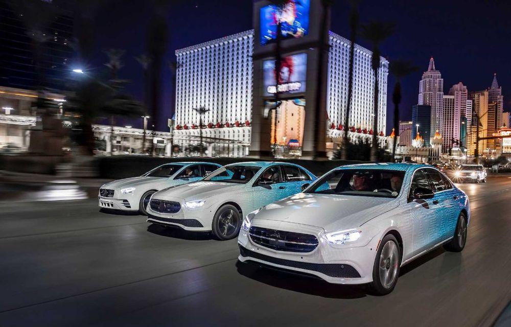 Primele imagini și detalii referitoare la Mercedes-Benz Clasa E facelift: versiuni mild-hybrid și plug-in hybrid, interior îmbunătățit și tehnologii de conducere semi-autonomă - Poza 22
