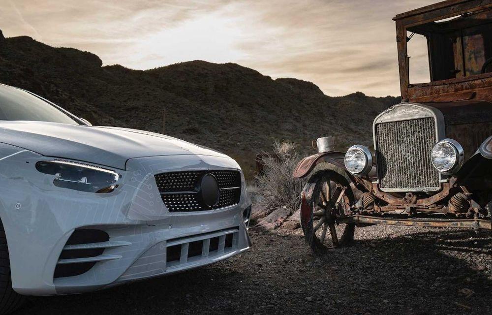 Primele imagini și detalii referitoare la Mercedes-Benz Clasa E facelift: versiuni mild-hybrid și plug-in hybrid, interior îmbunătățit și tehnologii de conducere semi-autonomă - Poza 24