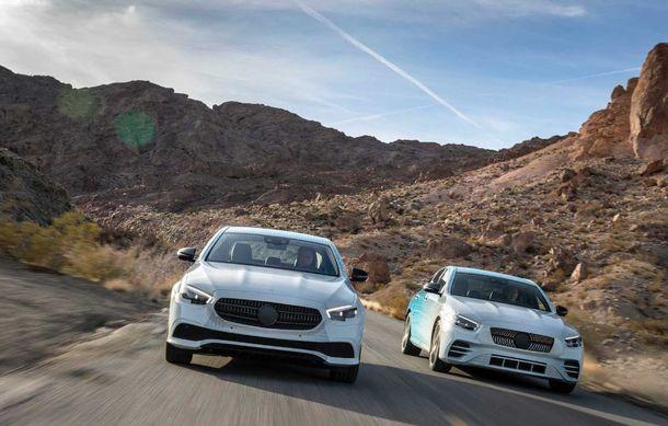 Primele imagini și detalii referitoare la Mercedes-Benz Clasa E facelift: versiuni mild-hybrid și plug-in hybrid, interior îmbunătățit și tehnologii de conducere semi-autonomă - Poza 11