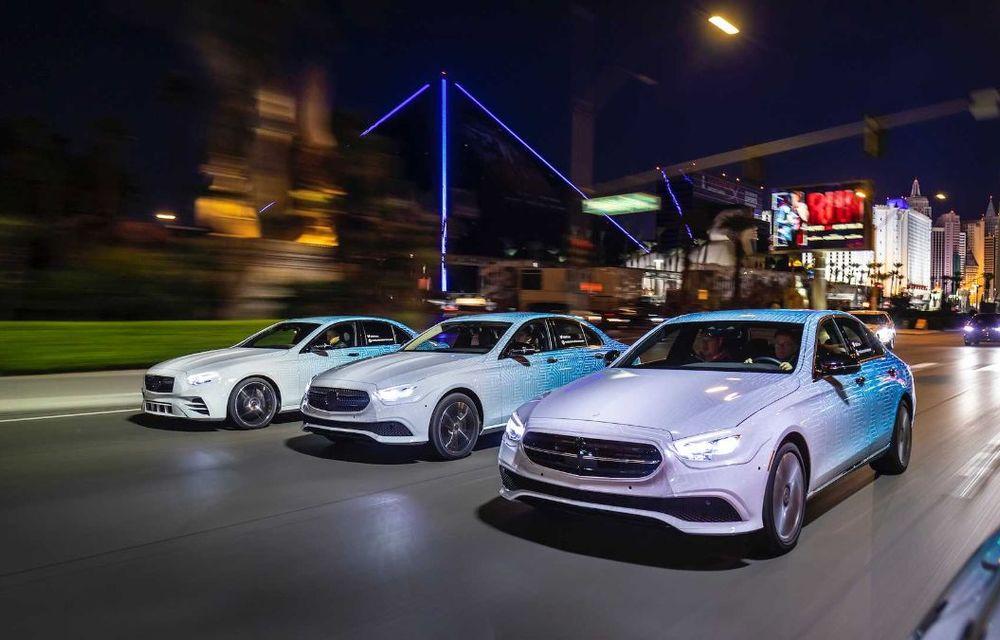 Primele imagini și detalii referitoare la Mercedes-Benz Clasa E facelift: versiuni mild-hybrid și plug-in hybrid, interior îmbunătățit și tehnologii de conducere semi-autonomă - Poza 17