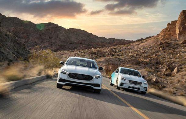 Primele imagini și detalii referitoare la Mercedes-Benz Clasa E facelift: versiuni mild-hybrid și plug-in hybrid, interior îmbunătățit și tehnologii de conducere semi-autonomă - Poza 10