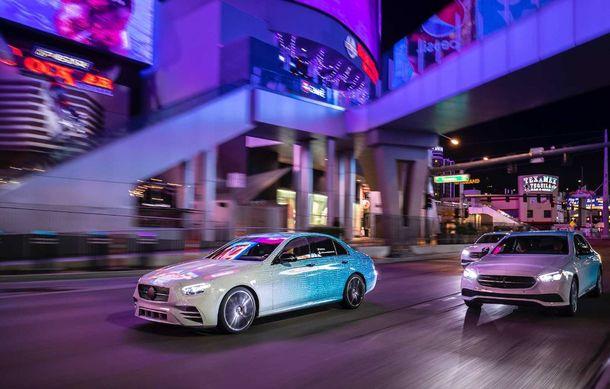 Primele imagini și detalii referitoare la Mercedes-Benz Clasa E facelift: versiuni mild-hybrid și plug-in hybrid, interior îmbunătățit și tehnologii de conducere semi-autonomă - Poza 21