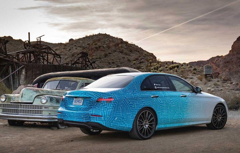 Primele imagini și detalii referitoare la Mercedes-Benz Clasa E facelift: versiuni mild-hybrid și plug-in hybrid, interior îmbunătățit și tehnologii de conducere semi-autonomă - Poza 16