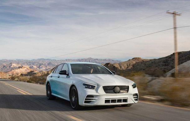 Primele imagini și detalii referitoare la Mercedes-Benz Clasa E facelift: versiuni mild-hybrid și plug-in hybrid, interior îmbunătățit și tehnologii de conducere semi-autonomă - Poza 9