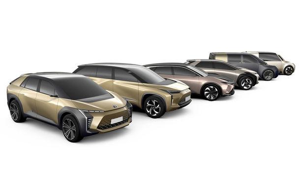 Toyota anunță o nouă strategie pentru 2025: 10 modele electrice, câte un model plug-in hybrid pe an și 25 de hibrizi fără încărcare la priză - Poza 1