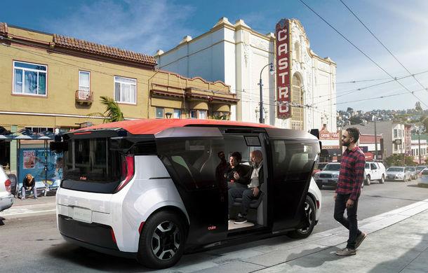General Motors a prezentat prototipul unui vehicul electric și 100% autonom: Cruise Origin ar putea fi folosit într-un serviciu de ride-hailing - Poza 1