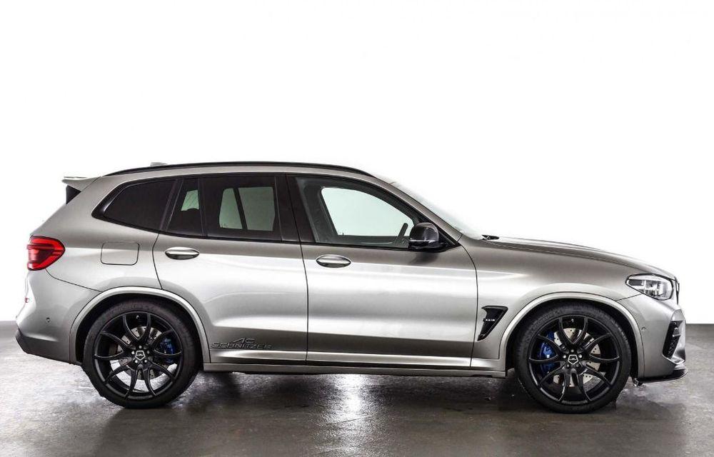 Tratament din partea AC Schnitzer pentru BMW X3 M Competition: motorul de 3.0 litri oferă acum 600 CP - Poza 10
