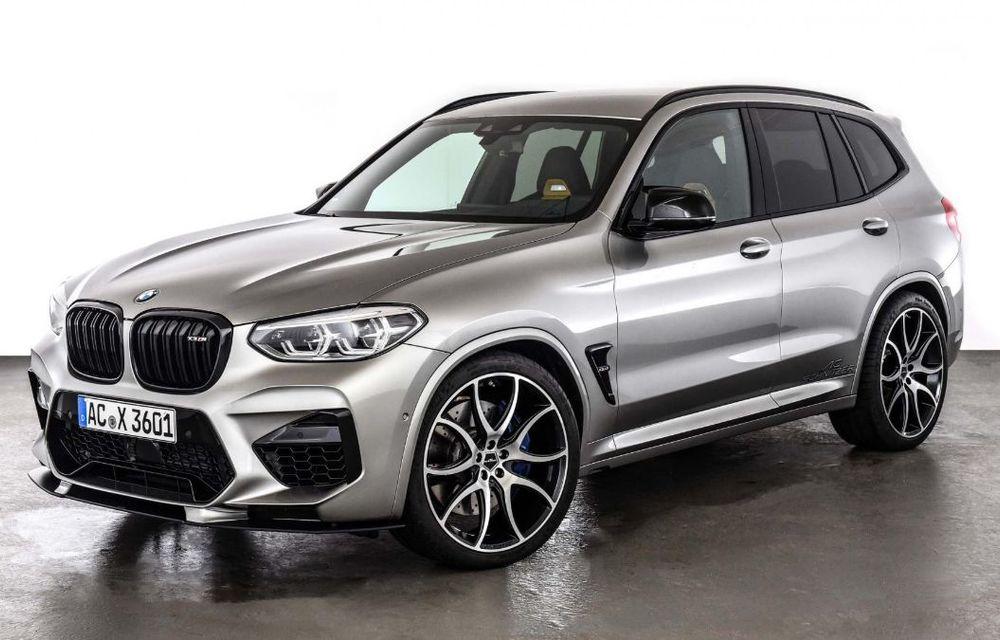 Tratament din partea AC Schnitzer pentru BMW X3 M Competition: motorul de 3.0 litri oferă acum 600 CP - Poza 7