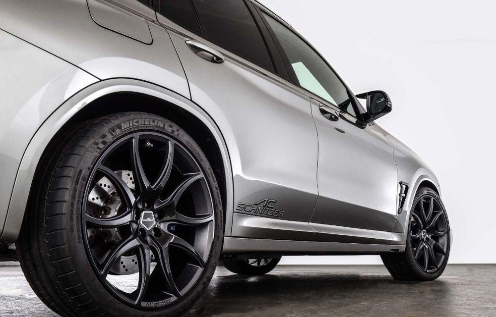Tratament din partea AC Schnitzer pentru BMW X3 M Competition: motorul de 3.0 litri oferă acum 600 CP - Poza 16