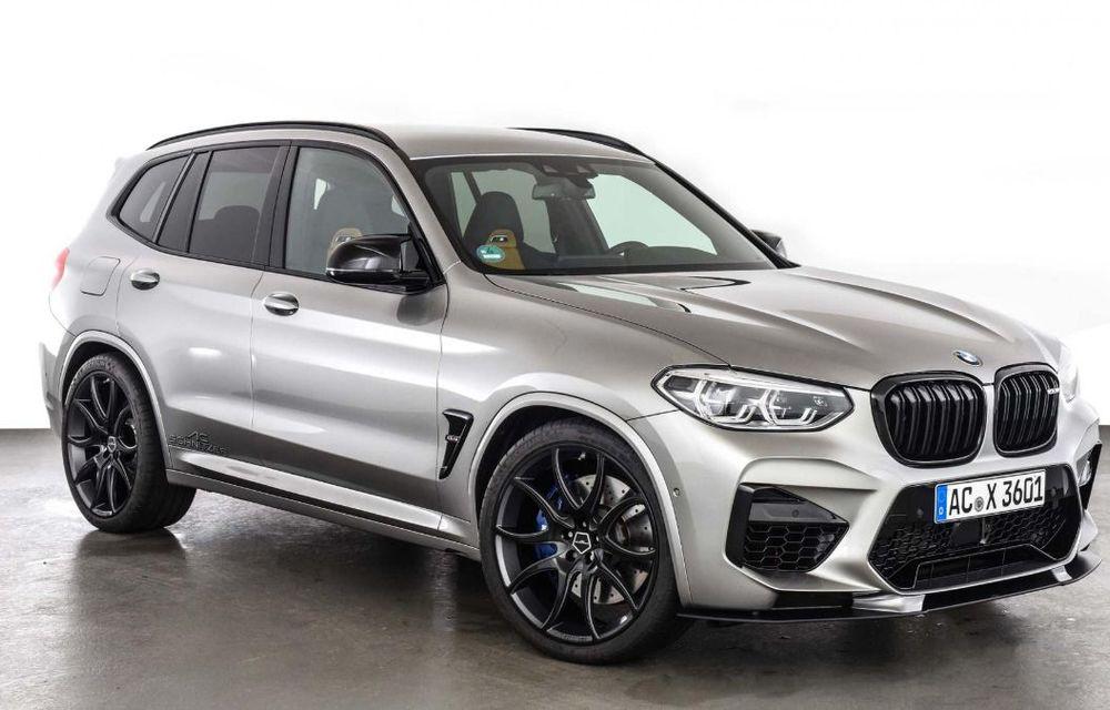 Tratament din partea AC Schnitzer pentru BMW X3 M Competition: motorul de 3.0 litri oferă acum 600 CP - Poza 8