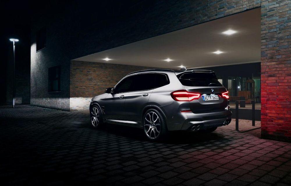 Tratament din partea AC Schnitzer pentru BMW X3 M Competition: motorul de 3.0 litri oferă acum 600 CP - Poza 5