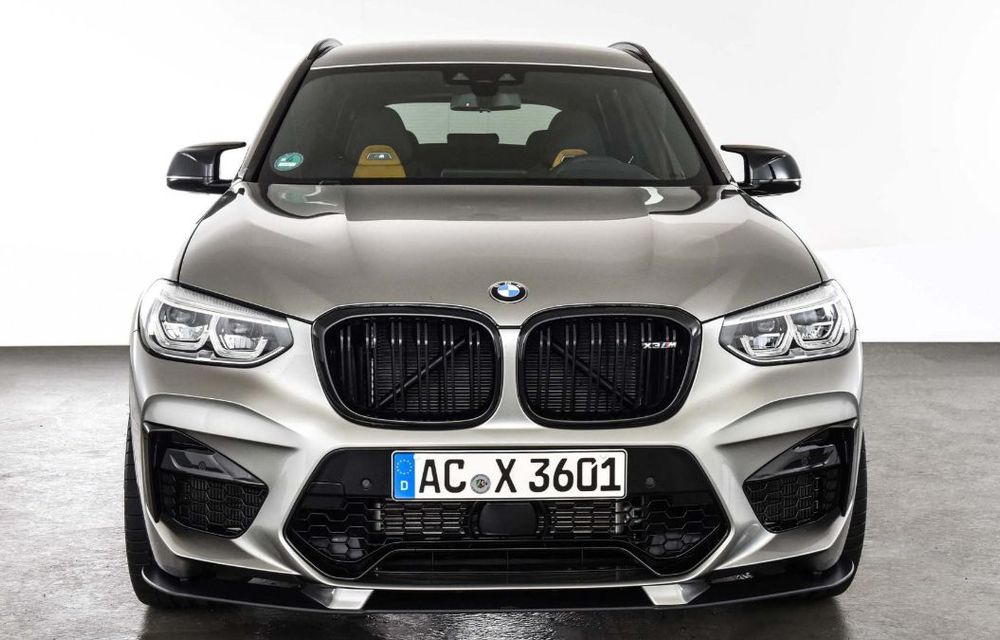 Tratament din partea AC Schnitzer pentru BMW X3 M Competition: motorul de 3.0 litri oferă acum 600 CP - Poza 6