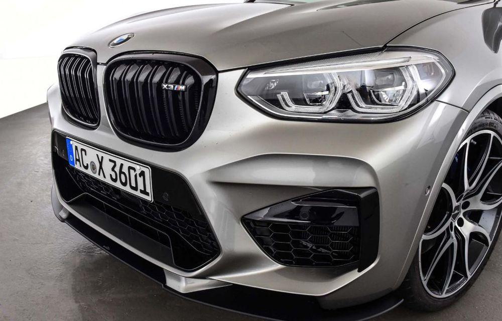 Tratament din partea AC Schnitzer pentru BMW X3 M Competition: motorul de 3.0 litri oferă acum 600 CP - Poza 13