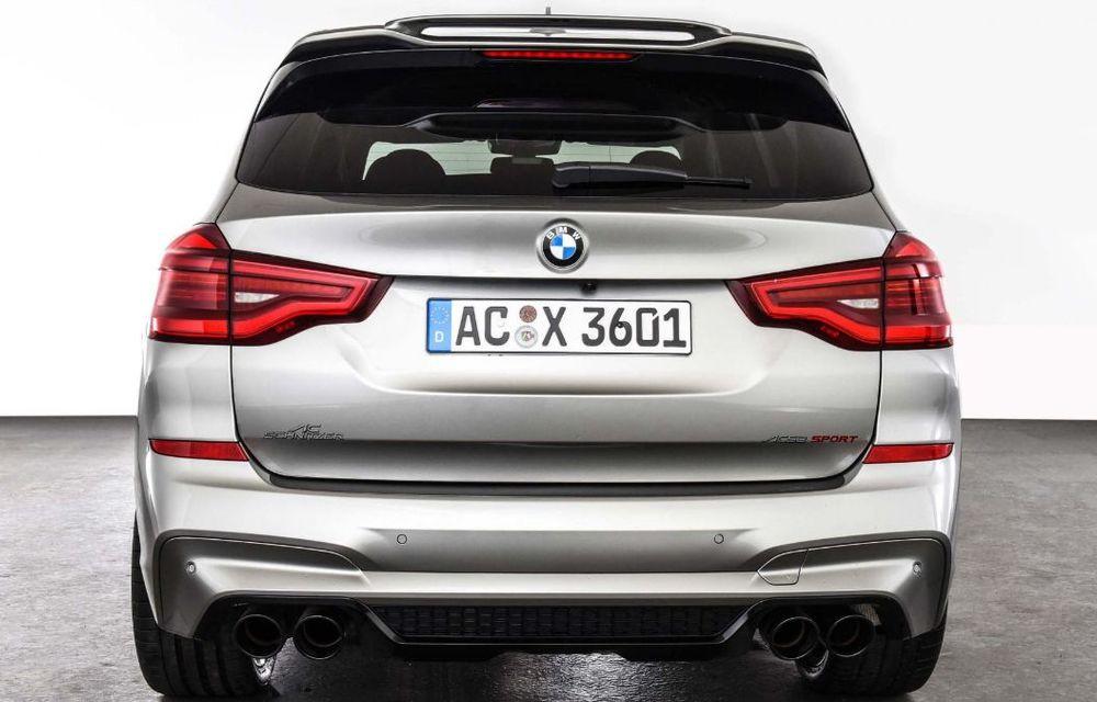 Tratament din partea AC Schnitzer pentru BMW X3 M Competition: motorul de 3.0 litri oferă acum 600 CP - Poza 12