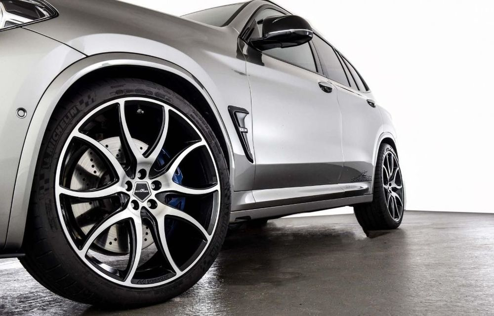 Tratament din partea AC Schnitzer pentru BMW X3 M Competition: motorul de 3.0 litri oferă acum 600 CP - Poza 14