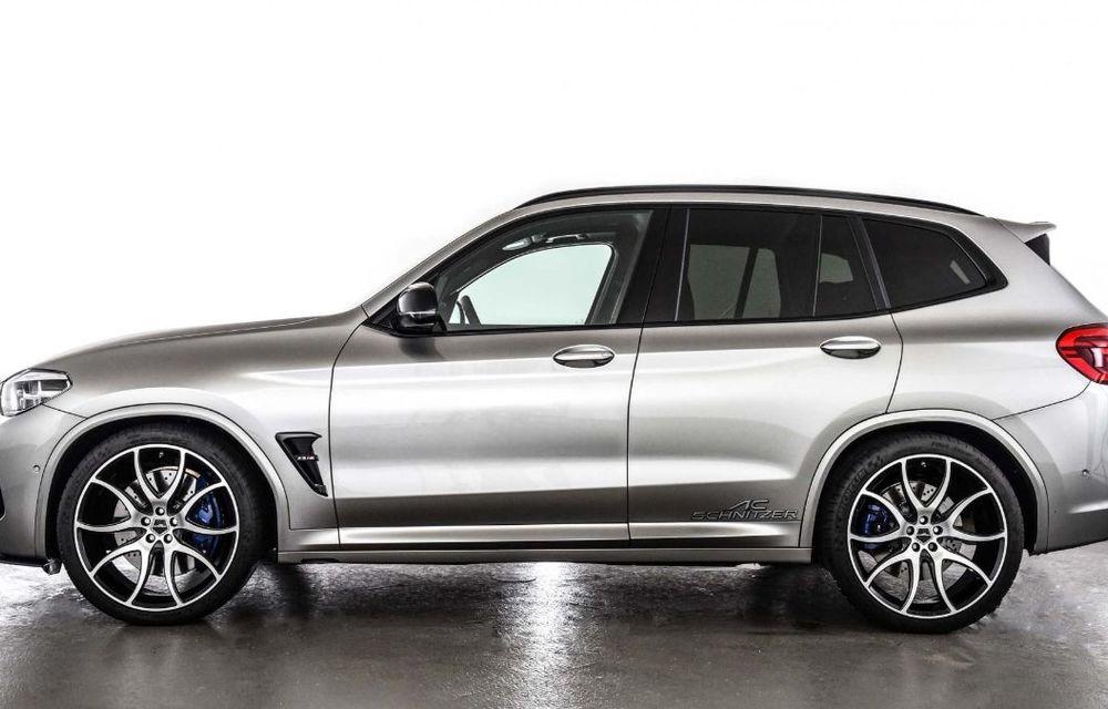 Tratament din partea AC Schnitzer pentru BMW X3 M Competition: motorul de 3.0 litri oferă acum 600 CP - Poza 9