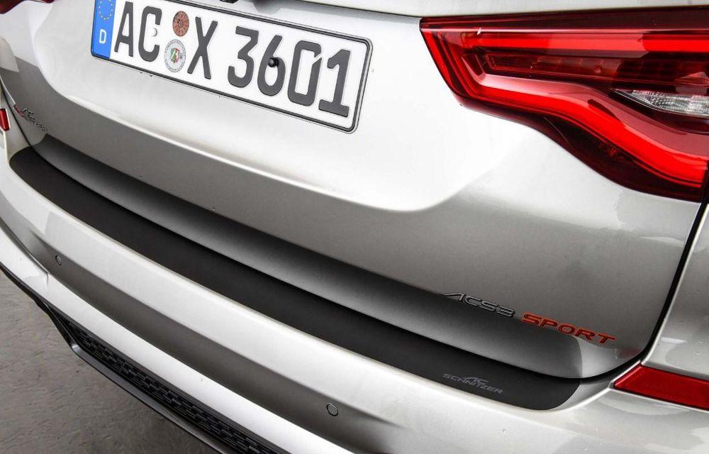 Tratament din partea AC Schnitzer pentru BMW X3 M Competition: motorul de 3.0 litri oferă acum 600 CP - Poza 17