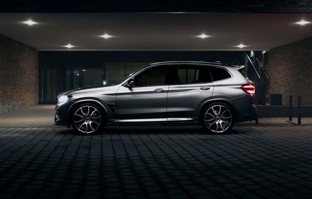 Tratament din partea AC Schnitzer pentru BMW X3 M Competition: motorul de 3.0 litri oferă acum 600 CP - Poza 3