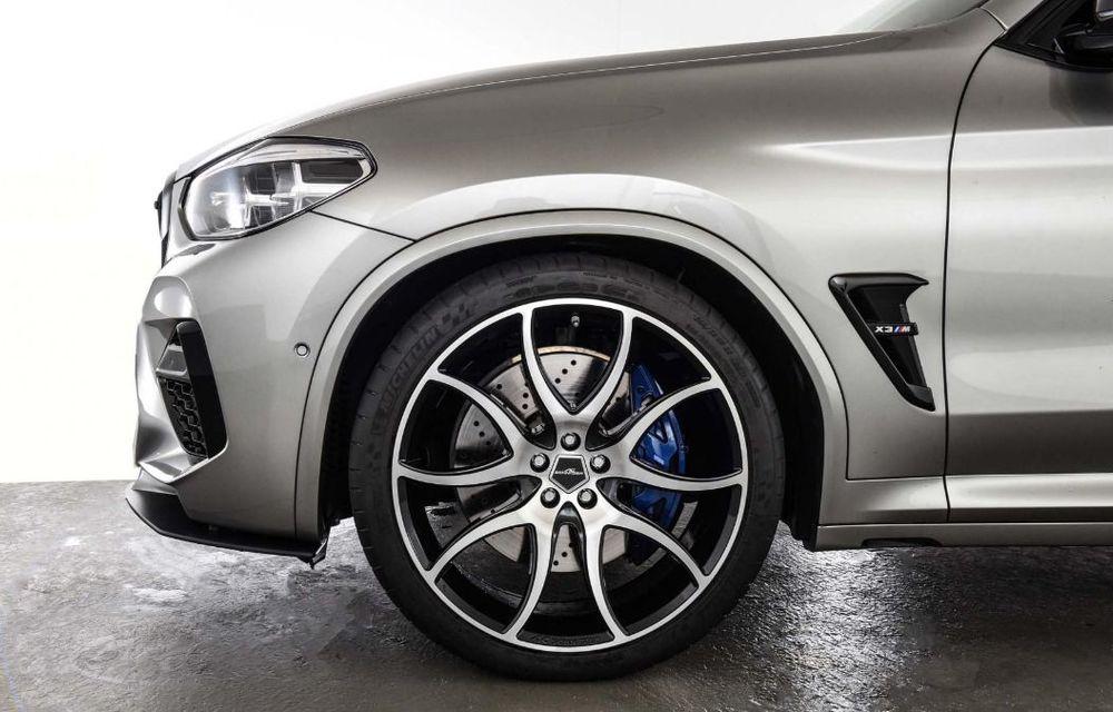 Tratament din partea AC Schnitzer pentru BMW X3 M Competition: motorul de 3.0 litri oferă acum 600 CP - Poza 15