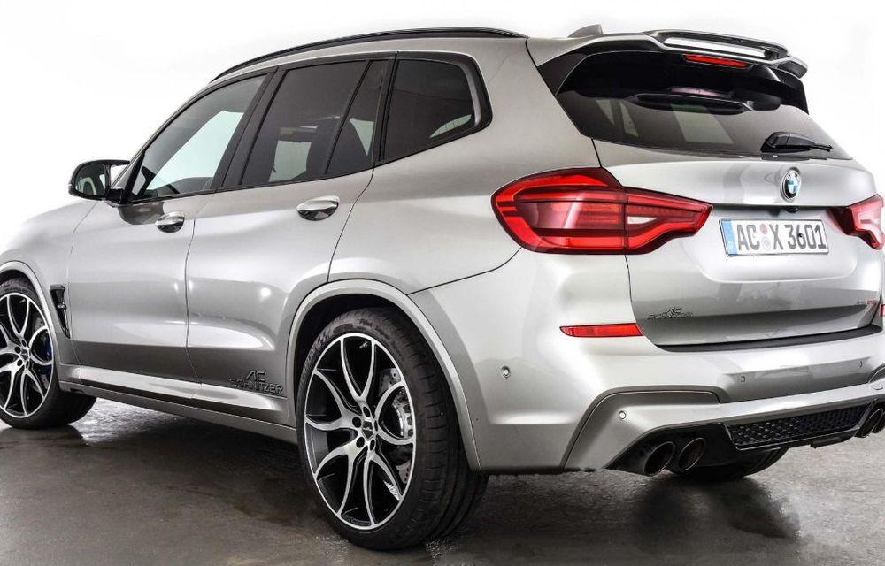 Tratament din partea AC Schnitzer pentru BMW X3 M Competition: motorul de 3.0 litri oferă acum 600 CP - Poza 11