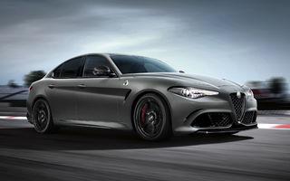 Alfa Romeo ar putea lansa ediția specială Giulia GTA: motorul V6 de 2.9 litri va dezvolta 620 CP