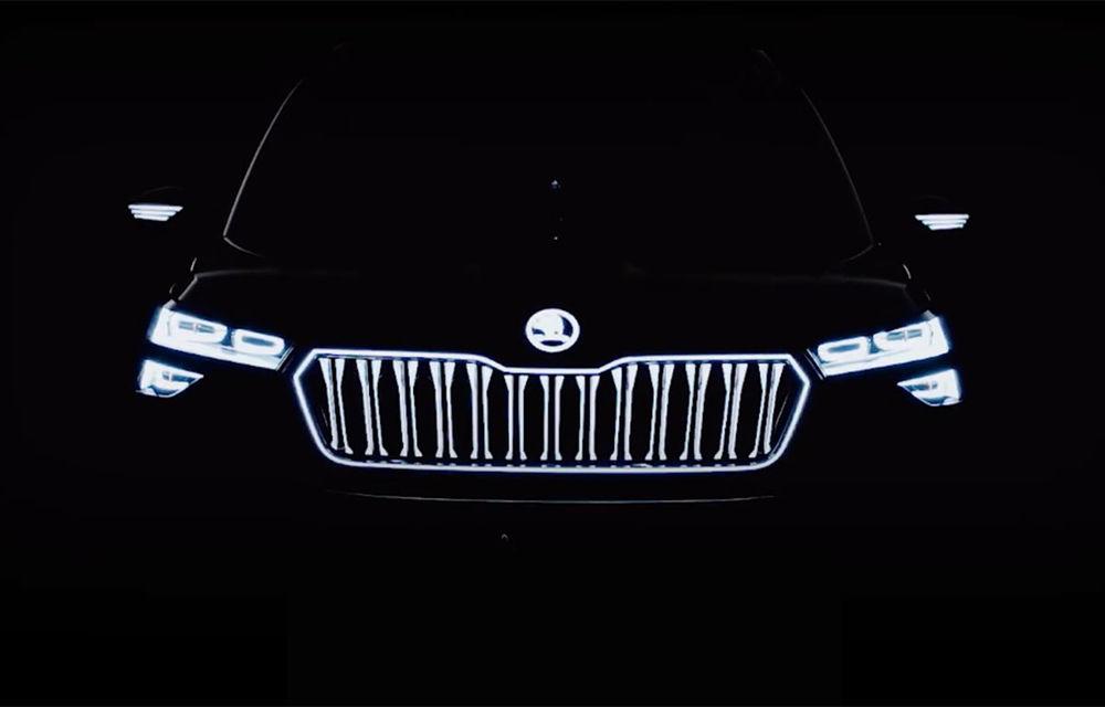 Primul teaser video cu viitorul Skoda Vision IN Concept: prototipul va fi prezentat în 5 februarie - Poza 1