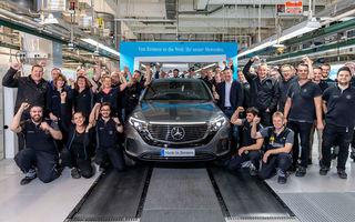 """Daimler neagă problemele cu stocul de baterii: """"Mercedes EQC va avea o producție de 50.000 de unități în 2020"""""""