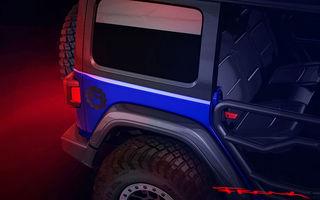 Mopar pregătește o ediție specială bazată pe Jeep Wrangler: modelul va fi expus în cadrul Salonului Auto de la Chicago