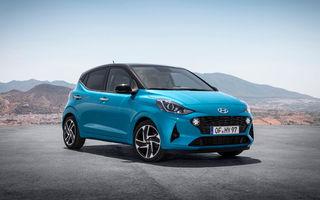 """Hyundai analizează introducerea unei versiuni electrice pentru modelul de oraș i10: """"Prețul de vânzare ar crește"""""""