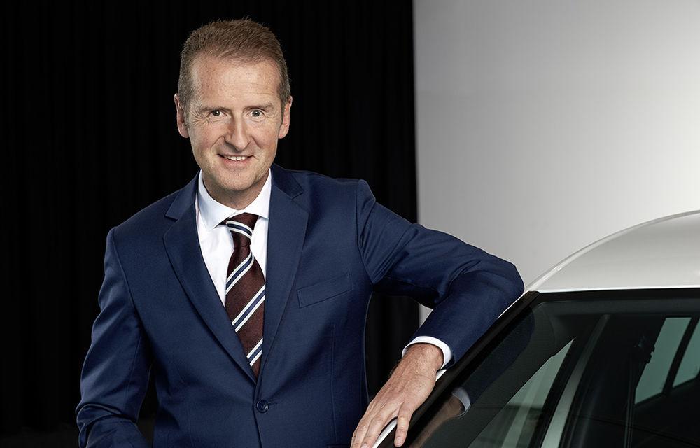 """Șeful VW, despre """"cursa"""" cu Tesla: """"Ei sunt lideri, dar sunt convins că putem ținem pasul și să-i depășim la un moment dat"""" - Poza 1"""