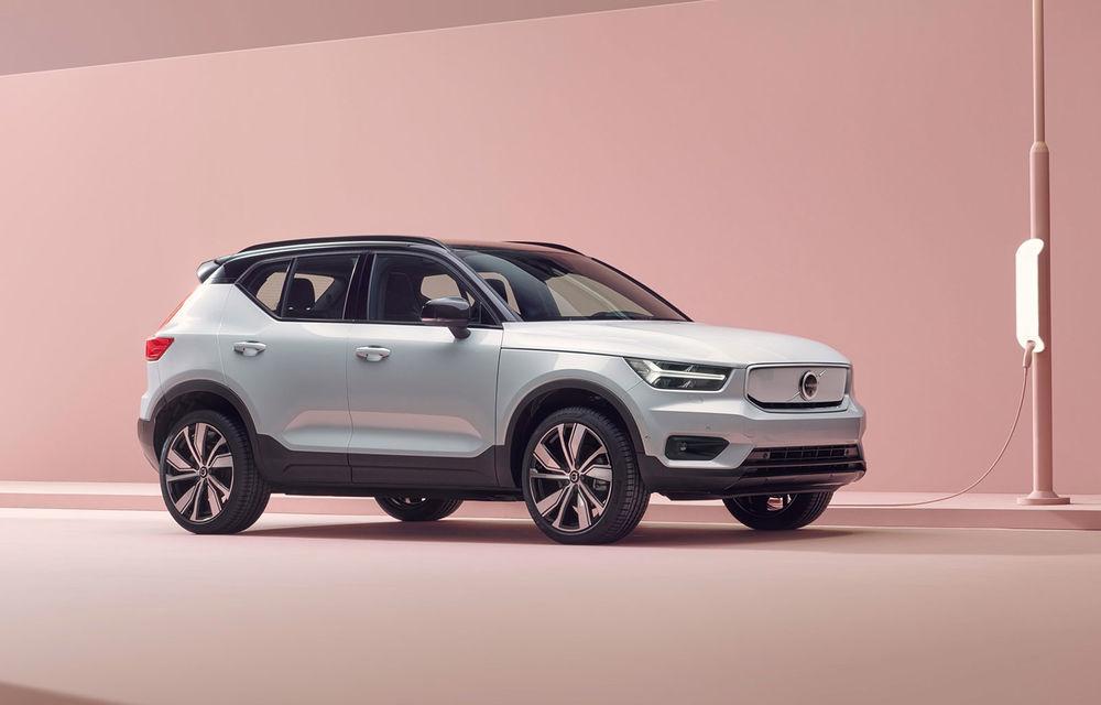 """Volvo a primit """"câteva mii de comenzi ferme"""" pentru SUV-ul electric XC40 Recharge: noul model va avea autonomie de 400 de kilometri - Poza 1"""