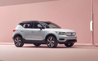 """Volvo a primit """"câteva mii de comenzi ferme"""" pentru SUV-ul electric XC40 Recharge: noul model va avea autonomie de 400 de kilometri"""