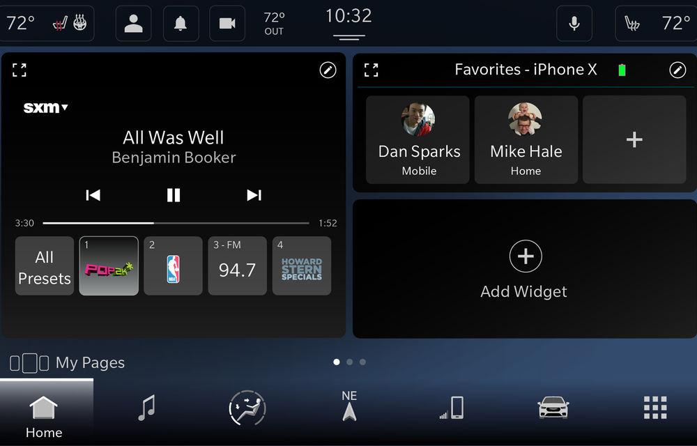 Fiat-Chrysler anunță schimbări majore pentru sistemul de infotainment Uconnect 5: este bazat pe Android și suportă ecrane de până la 12.3 inch - Poza 2