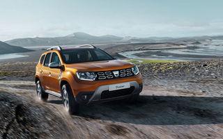 Înmatriculări europene în decembrie: creștere de 30% pentru Dacia, cu Duster și Sandero pe locurile 5 și 8 în topul pe modele